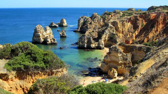 Praia em Algarve